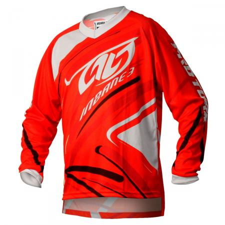 JERSEY INSANE 3 ROJO-BLANCO