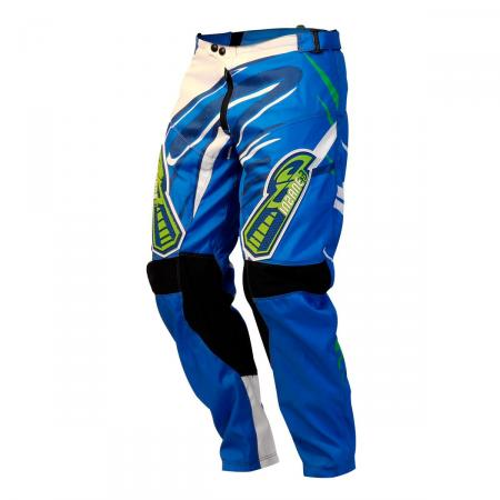 PANTALON CROSS INSANE 3 AZUL-BLANCO