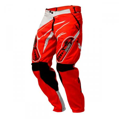 PANTALON CROSS INSANE 3 ROJO-BLANCO