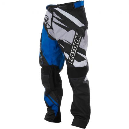 PANTALON CROSS INSANE 4 AZUL-GRIS